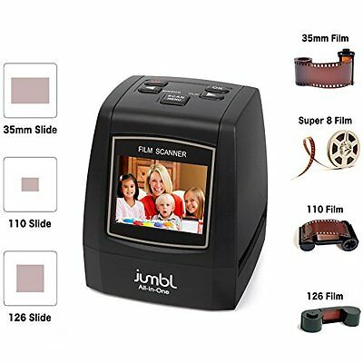 Jumbl High-Resolution 22MP Scanner /Digitizer - Converts 35mm Negative Films