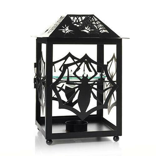New YANKEE CANDLE Spider Web Lantern Tart Burner 1521652 Wax Melt Table Top