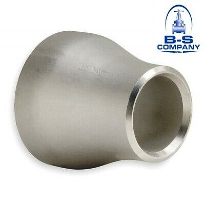 Stainless Weld Fitting Concentric Reducer 3 X 1 S80 Bevel End 316l