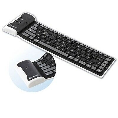Fonus Bluetooth Waterproof Wireless Keyboard Flexible Fol...