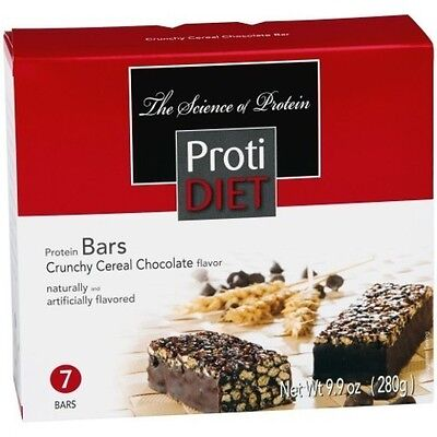 ProtiDiet - High Protein Diet Bar | Crunchy Cereal Chocolate | Low Calorie  ()