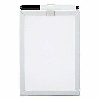 Brand New Foray 5 X 7 Magnetic Dry Erase White Board With Marker White