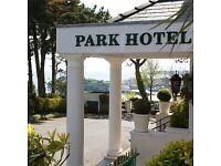 Hotel Receptionist / General Assistant - Tenby, Pembrokeshire.