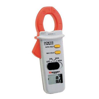 Megger Dcm310-en 1000-303 Digital Clamp Meter 400 A Ac