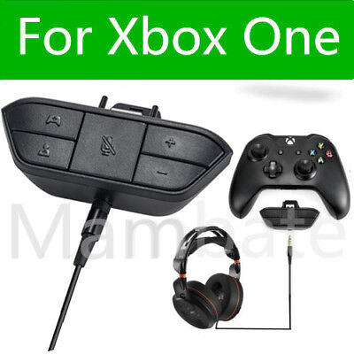 Used, Stereo Headset Headphone Audio Game Adapter For Microsoft Xbox One Controller for sale  Shipping to South Africa