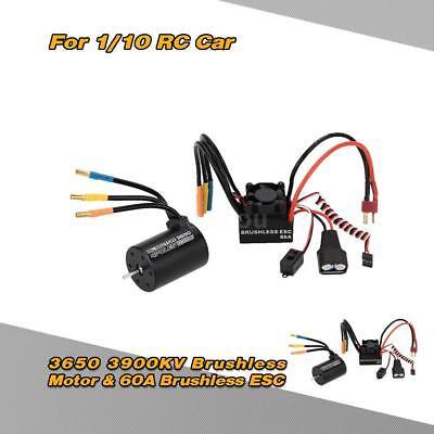 3650 3900KV 4P Motor&60A Brushless Regler ESC mit 5.8V / 3A Switch Mode BEC W8W1