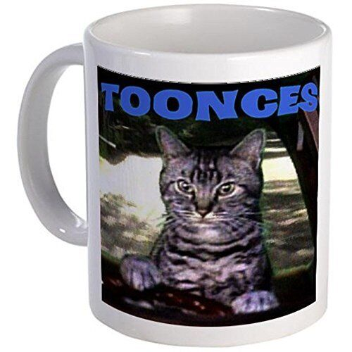 11oz mug TOONCES - White Ceramic Coffee/Tea Cup