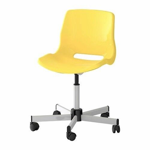 Magnificent Ikea Snille Swivel Desk Chair In Pastel Yellow 10 In Ealing London Gumtree Ncnpc Chair Design For Home Ncnpcorg