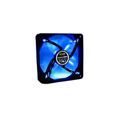 Gelid Gamer 120mmx120mmx25mm Wing 12 PL  PWM LED Fan, Blue (Retail (Gelid Wing 12 120mm Pwm Blue Led Fan)