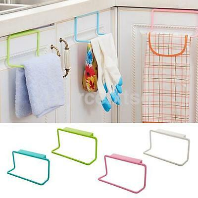 Towel Rack Holder Kitchen Organizer Bathroom Hot Hanging Hanger Cabinet