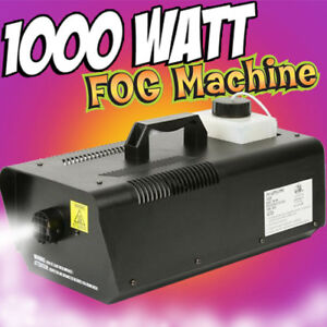 FOG MACHINES AND TIMER CONTROL FOR SALE