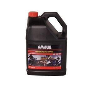 Yamalube All Purpose 4 Stroke Oil 10w 40 1 Gallon 10w40
