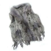 Grey Fur Gilet