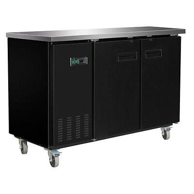 Central Exclusive 69k-103 Solid Door Back Bar Cooler 2 Doors