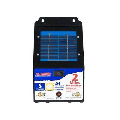 Fi Shock Solar Shock - Fi-Shock 2Mile Solar Powered Low Impedance Pet Deterrent Fence EnergizerESP2M-FS