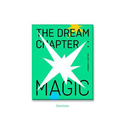 TXT THE DREAM CHAPTER:MAGIC 1st Album SANCTUARY CD+P.Book+Pad+Card+Sticker+etc