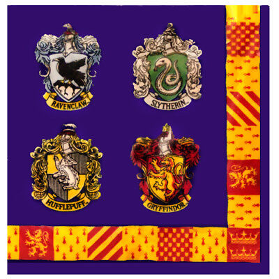 Magician Birthday Party Supplies (HARRY POTTER Sorcerer's Stone LUNCH NAPKINS (16) ~ Birthday Party Supplies)