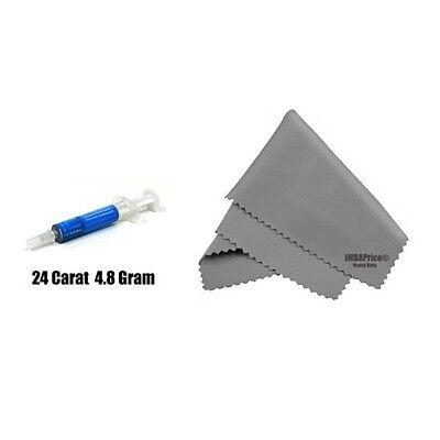IC Diamond 24 Carat 4.8 Gram Thermal Compound + MicroFiber
