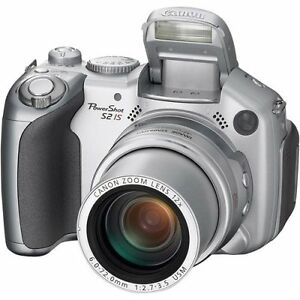 Canon Powershot S2 IS 5MP Digital Camera with 12x Optical Image