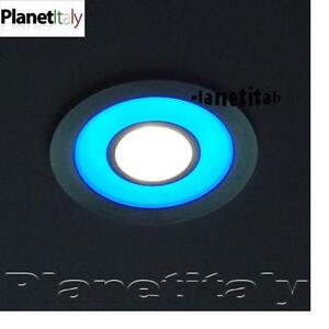 Faretto incasso led illuminazione doccia bagno turco led luce bianca e blu 5w - Illuminazione bagno led ...