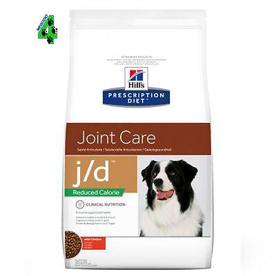 HILL'S DIET j/d reduced calorie 12 kg per cani con problemi alle articolazioni