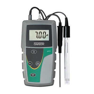 Oakton Wd-35613-53 Ph 5 Meter With Probe Nist Calibration Report