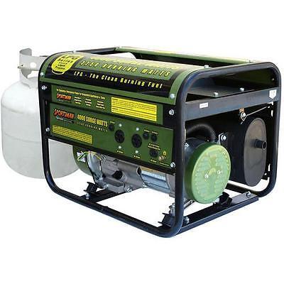 Portable Power Generator 4000W Gas Propane