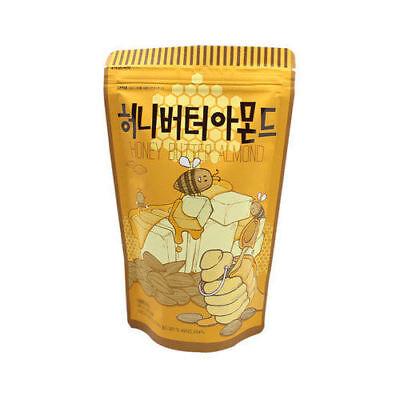 210g Honey Butter Almond Delicious Healthy KOREAN Snack_NU