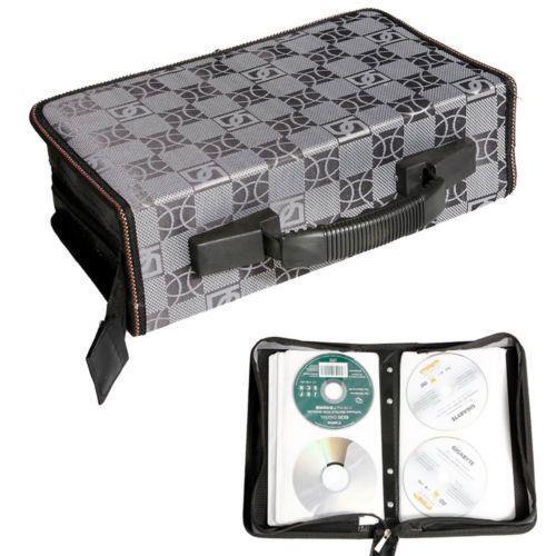Cd storage case 200 ebay - Dvd case holder shelf ...