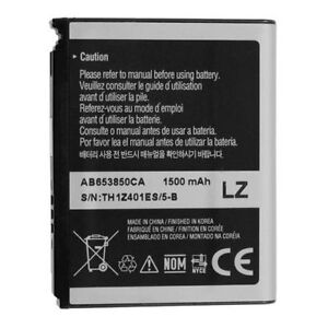 NEW OEM SAMSUNG AB653850CA BATTERY FOR MOMENT SPH-M900, NEXUS S 4G SPH-D720