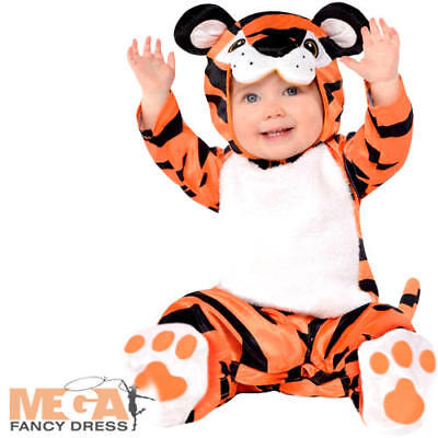 Baby Tiny Tiger Kids Fancy Dress Zoo Animal - Tiny Tiger Kostüme