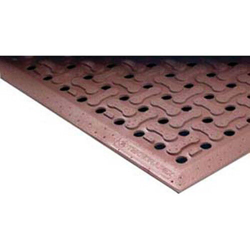 Superflow Anti-Fatigue Mat 3 ft. W x 5 ft. Heavy Duty Red