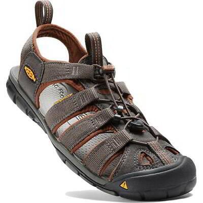 Keen Clearwater CNX Mens Dark Grey Adjustable Walking Water Sandals Shoes 7-14