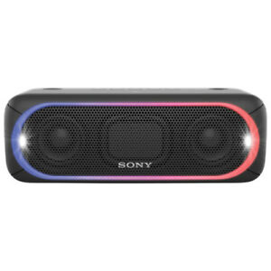 Sony SRS-XB30 Bluetooth Speaker - 24 HR Battery, IPX5 Water, LED