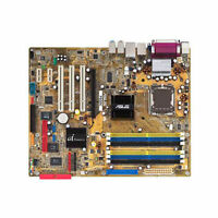 ASUS P5GDC motherboard with Dual-Core CPU, Case