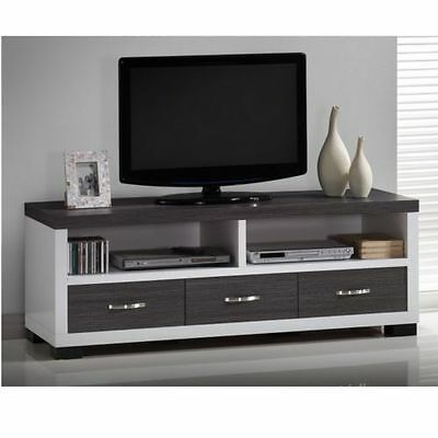 TV Entertainment Center Modern Unit Stand Furniture ...