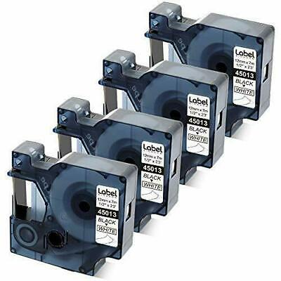 Compatible Labels Replacement For Dymo D1 Label Tape Refill 45013 S0720530 12