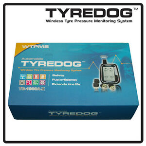 Tyredog TPMS Tyre Pressure Monitoring System 4 Wheel Wireless Monitor TD1000X-04