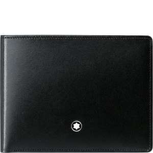 MONTBLANC MEISTERSTUCK 6CC BLACK LEATHER WALLET NEW - <span itemprop=availableAtOrFrom>Koszalin, Polska</span> - MONTBLANC MEISTERSTUCK 6CC BLACK LEATHER WALLET NEW - Koszalin, Polska