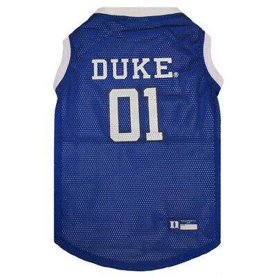 Duke Blue Devils NCAA Pets First Dog Pet Basketball Tank Jersey Sizes XS-XXL