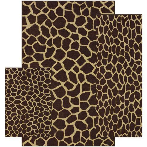 Giraffe Rug Ebay