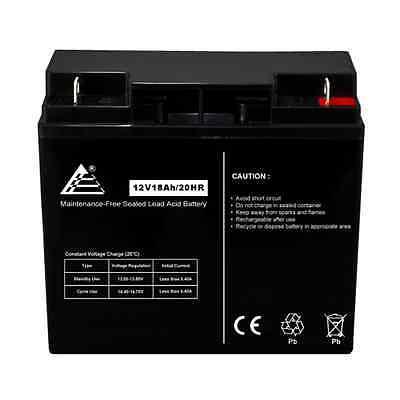 12V 18Ah Sealed Lead Acid Scooter Battery D5745 40648 WP18-1