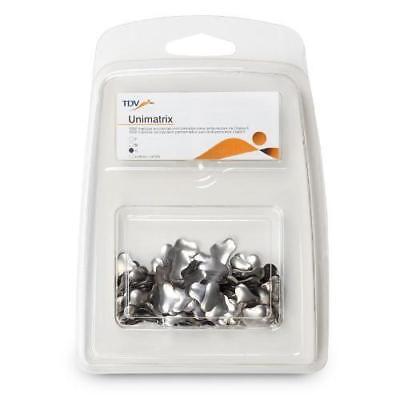 Dental Sectional Matrix Tdv Unimatrix Band Refill Pack Assorted 3 Sizes 50pcs