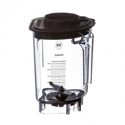 Vitamix 15216 48oz 1.4l Advance Container Wblade Splash Lid