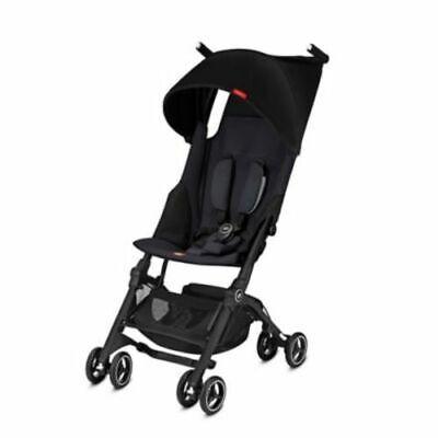 Goodbaby Pockit Plus Baby Stroller - Satin Black