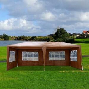 TRENDALS® ALL INCLUSIVE PRICE | 10x20 ft Wedding Party Gazebo Tent White SPRING SALE