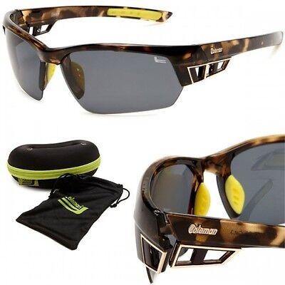 7ac3306eef06d Coleman TR90 Polarized CC2 Tortoise Shell Brown Sunglasses Sports   Fishing  NEW!