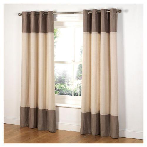 Faux Suede Lined Curtains | eBay