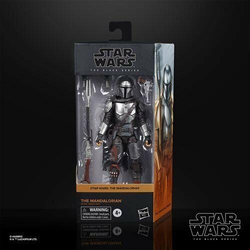 FREE SHIPPING! Star Wars Black Series The Mandalorian Beskar Armor 6-Inch AF