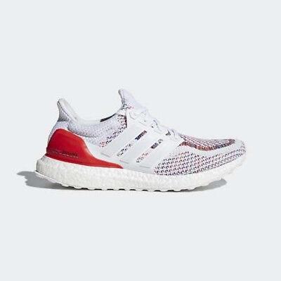 a7b884a92b68e Adidas Ultra Boost 2.0 Multicolor White Red Multi BB3911 SIZE 10.5